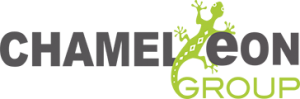 The Chameleon Group logo.