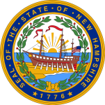 The State of New Hampshire Seal